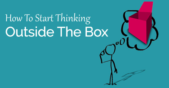 how think outside box