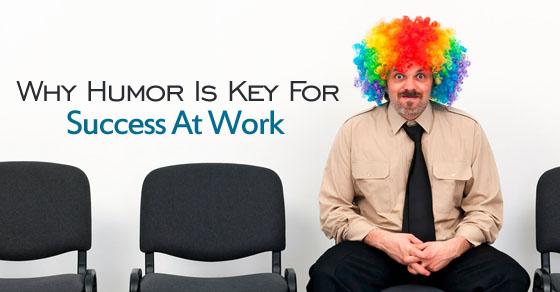 humor is success key