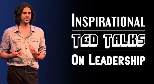 inspirational ted talks leadership