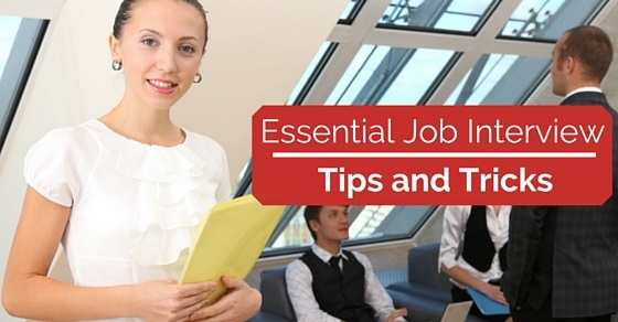job interview tips tricks