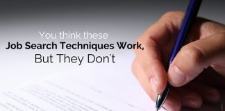job search techniques work
