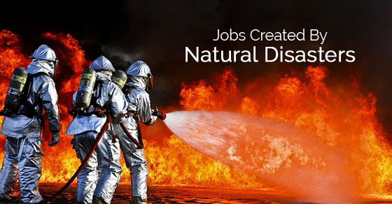 jobs created by disasters
