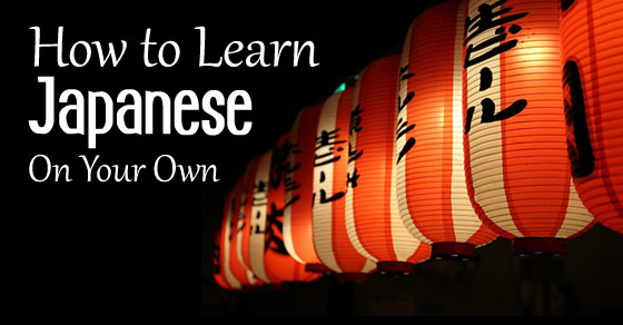 learn japanese on own