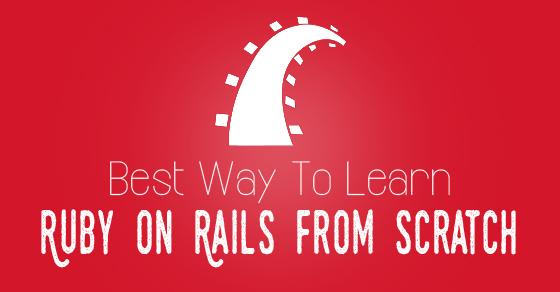 learn ruby rails scratch