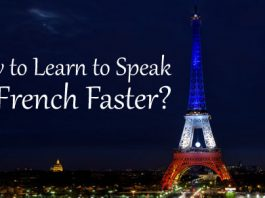 learn speak french faster