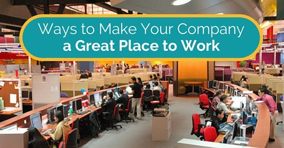 make company great place work