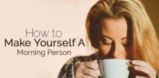 make yourself morning person