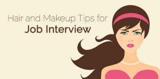 makeup tips job interview