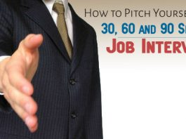 pitch yourself 30 seconds