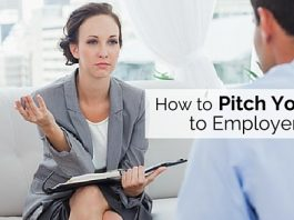 pitch yourself to employers