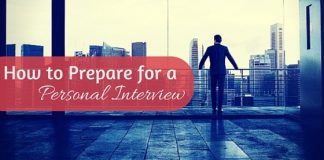 prepare for personal interview