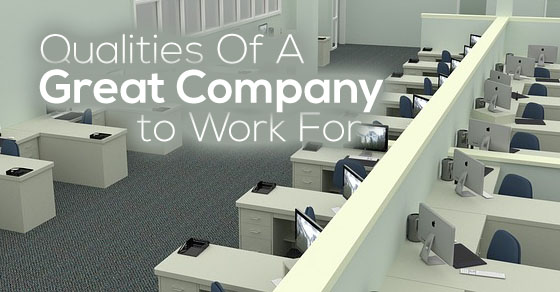 qualities of great company