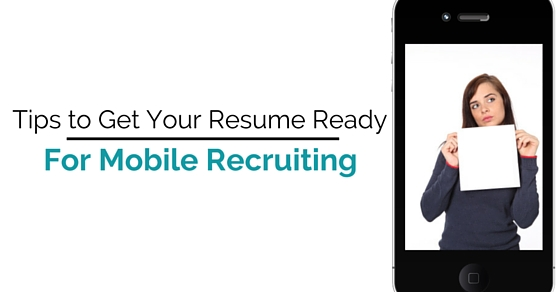 resume ready mobile recruiting