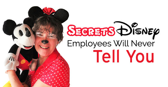 secrets disney employees tell