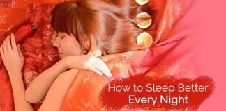 sleep better every night