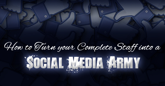 staff social media army
