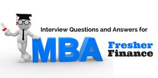 Interview Questions MBA Freshers