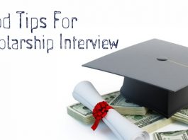 Tips for Scholarship Interview