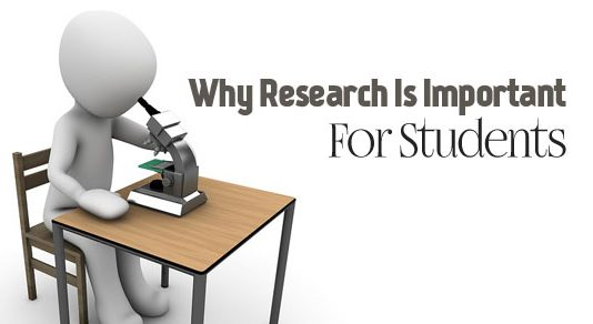 Why Research is Important