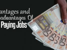disadvantages high paying jobs
