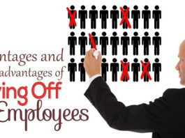 disadvantages laying off employees