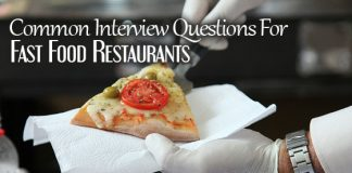 fast food interview questions