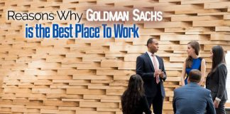 goldman sachs best workplace
