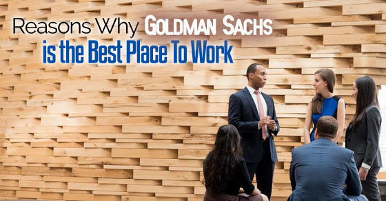 goldman sachs best workplace