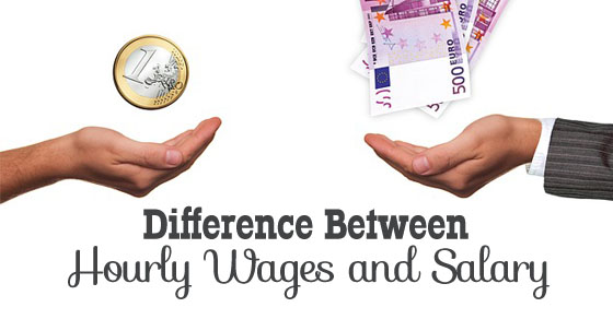 hourly wages and salary