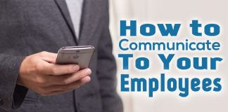 how communicate to employees