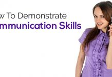 how demonstrate communication skills