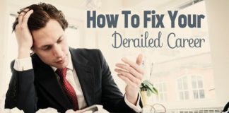 how fix derailed career