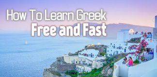 how learn greek free