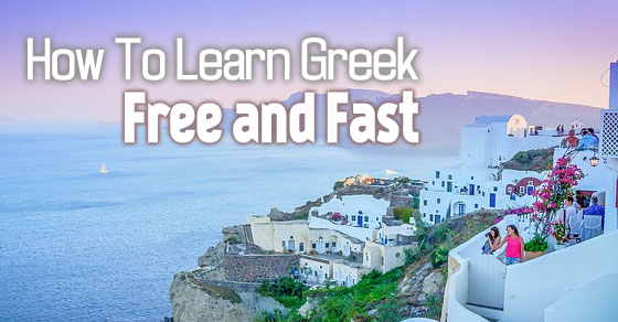 how learn greek free
