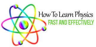 how learn physics fast