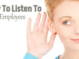 how listen to employees