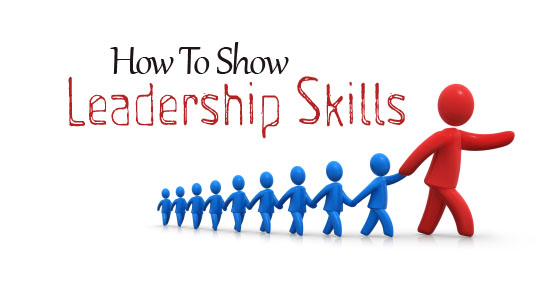 how show leadership skills