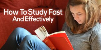 how study fast effectively