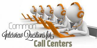 interview questions call center