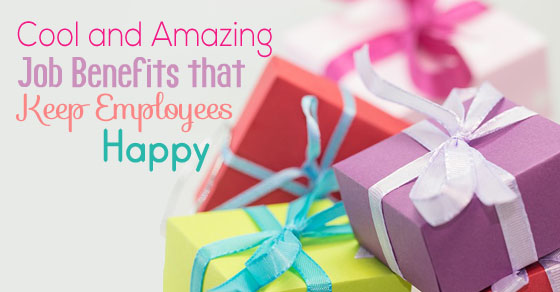 job benefits employees happy