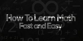 learn math fast easy