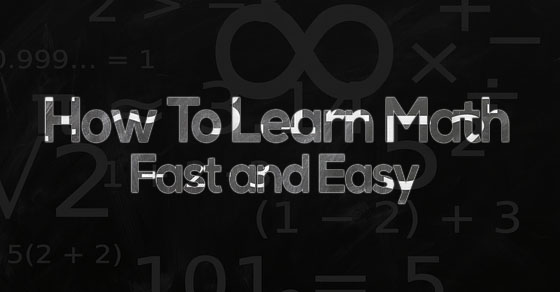 learn math fast easy