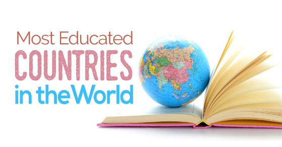 most educated countries world