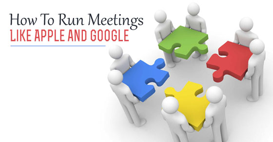 run meetings like google