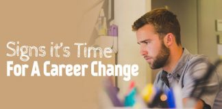 signs time career change