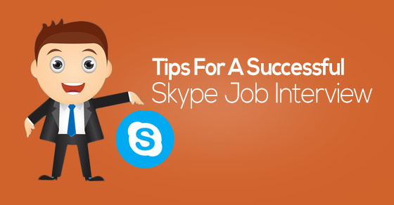 skype job interview tips