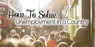solve unemployment in country