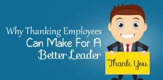 thanking employees make leader