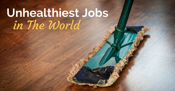 unhealthiest jobs in world