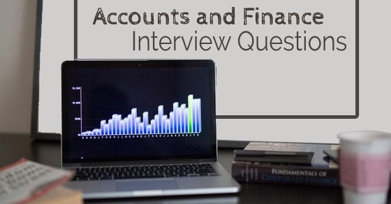 accounts finance interview questions